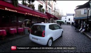Comparatif Renault Twingo 2 restylée / Volkswagen Up ! (Emission Turbo du 29/01/2012)