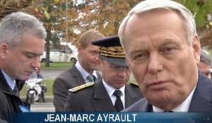 Jean-Marc Ayrault touché par le courage de Dominique Bertinotti - 22/11