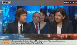 BFM Politique: L'interview d'Anne Hidalgo par Christophe Ono-dit-Biot - 02/02 3/5
