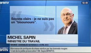 BFM Politique: L'interview de Michel Sapin par Christophe Ono-dit-Biot du Point - 01/12 3/6