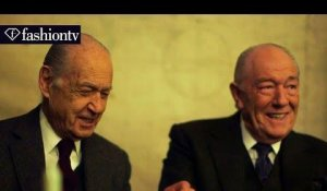 English Gentleman at the Cabinet War Room ft. Michael Gambon | London Collections: Men | FashionTV