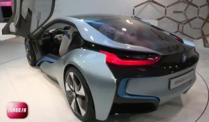 En direct du Salon de Francfort 2011 : BMW i8 Concept en video
