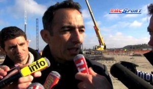 "Barrages / Djorkaeff : ""La France doit passer"" 12/11"