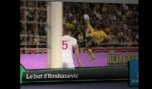 Top Média : Le but d'Ibrahimovic fait vibrer le web