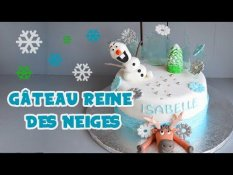 Gateau Elsa Reine Des Neiges Elsa Doll Cake Sur Orange Videos