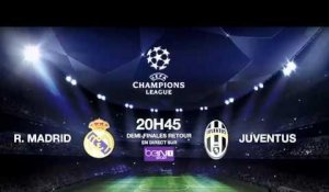 Real Madrid - Juventus : le programme TV du match de mercredi en Ligue des Champions !