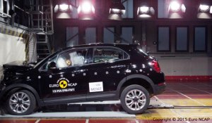 Euro NCAP : crash-test de la Fiat 500 X