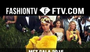 Met Gala 2015 Red Carpet Arrivals ft. Beyonce , Kim Kardashian & Rihanna  | FashionTV