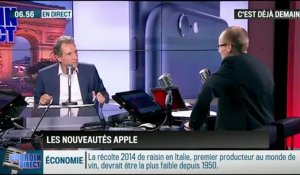 La chronique d'Anthony Morel : iPhone 6, iPhone 6 Plus et Apple Watch : les nouveautés d'Apple - 10/09