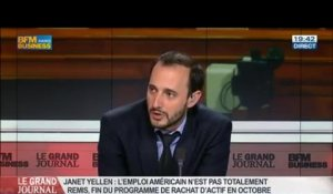 Guillaume Duval et Benjamin Masse-Stamberger, dans Le Grand Journal – 22/08 6/7