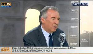 Bourdin Direct : François Bayrou - 01/10
