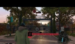 Watch Dogs - Blackout sur portail