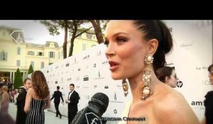 fashiontv | FTV.com - CANNES FILM FESTIVAL 2010 - AMFAR RED CARPET - WITH HOFIT GOLAN