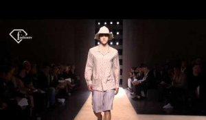 fashiontv | FTV.com - MILAN MEN S/S 11 - GIANFRANCO FERRE DESIGNER AT WORK