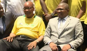AfSud/CAN-2013: Zuma rencontre l'équipe nationale