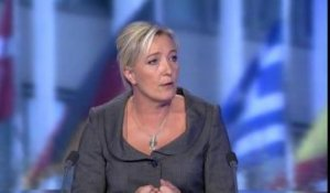 Marine Le Pen, présidente du Front national