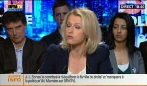 BFM Politique: L'interview de Barbara Pompili par Christophe Ono-dit-Biot du Point - 06/04 2/6