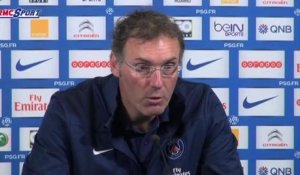 "Football / Ligue 1 - Blanc : ""Beaucoup de respect pour Evian"" 22/04"