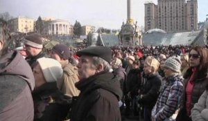 Accord en Ukraine: les manifestants insatisfaits - 21/02