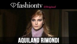 Aquilano.Rimondi Fall/Winter 2014 | Milan Fashion Week MFW | FashionTV