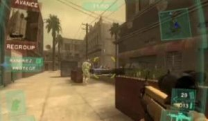 Tom Clancy's Ghost Recon Advanced Warfighter - Pan, dans les dents