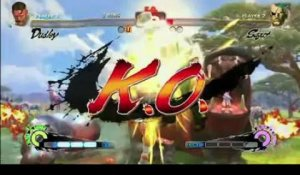 Super Street Fighter IV - Dudley vs Sagat