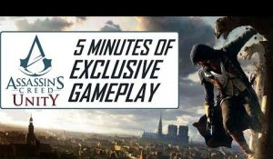 Assassin's Creed Unity - 5 Minutes of Gameplay | Combat, Parkour, Coop [HD]