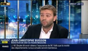 Le Face à Face : Jean-Christophe Buisson VS Clémentine Autain, dans Hondelatte Direct - 17/10