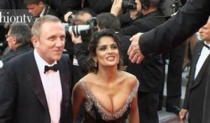 Cannes 2012 Red Carpet ft. Salma Hayek | FashionTV