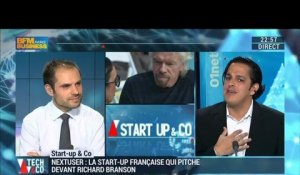 Start-up & Co: NextUser, la start-up française qui pitche devant Richard Branson - 11/02