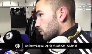 OM - OL (0-0): La réaction d'Anthony Lopes