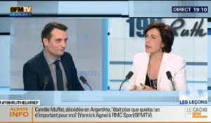 Florian Philippot face à Ruth Elkrief