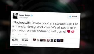Lady Gaga dit à Taylor Swift que son Prince Charmant viendra