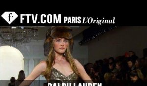 Ralph Lauren Fall/Winter 2015 Show |  New York Fashion Week NYFW | FashionTV