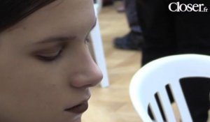 Fashion Week de Paris : le  maquillage du défilé Allude
