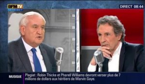 "Jean-Pierre Raffarin : ""Face au risque Front national, je suis d'accord avec Manuel Valls"""