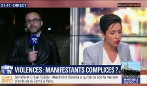 Violences: Manifestants complices ?