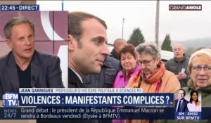 Violences: Manifestants complices ? (2/3)