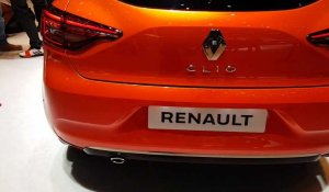 Renault Clio au salon international de l'automobile de Genève 2019