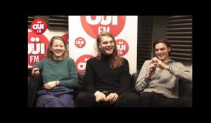 Pogo Car Crash Control en interview au micro de OUI FM