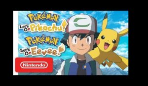 Pokémon:Let's Go, Pikachu! and Pokémon:Let's Go, Eevee!-Welcome to the Kanto Region-Nintendo Switch