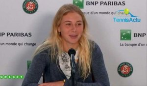 "Roland-Garros 2019 - Amanda Anisimova, 17 years, is in semi-finals : ""It's crazy !"""