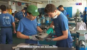 Immersion : Airbus forme ses bacheliers