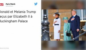 Accueil royal pour Donald Trump à Buckingham Palace