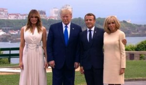 G7 de Biarritz: Macron accueille Trump, Johnson et Merkel