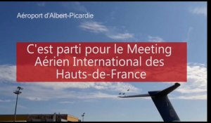 Meeting aérien International des Hauts-de-France à l'aéroport d'Albert-Picardie