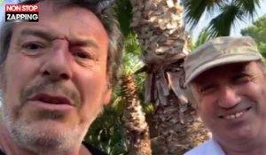 Jean Luc Reichmann Fier De Son Potager Michel Drucker Vient Le Perturber Video Sur Orange Videos
