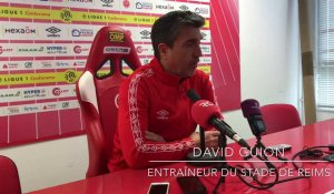 Stade de Reims - Stade Rennais : l'avant-match avec David Guion