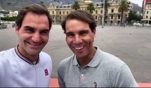 ATP  - Roger Federer and Rafael Nadal in Cape Town for another record !