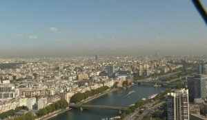 Forte pollution à Paris, mais la tendance est à la baisse (Airparif)